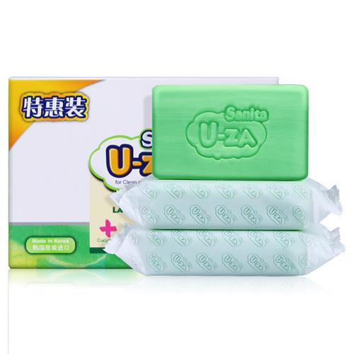 u-za 150g*3婴幼儿黄瓜洗衣皂(三联包)
