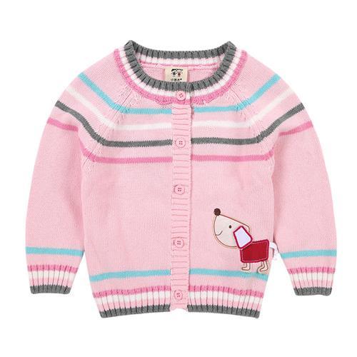 小吉杰针织开衫Y6AU81609粉色110CM