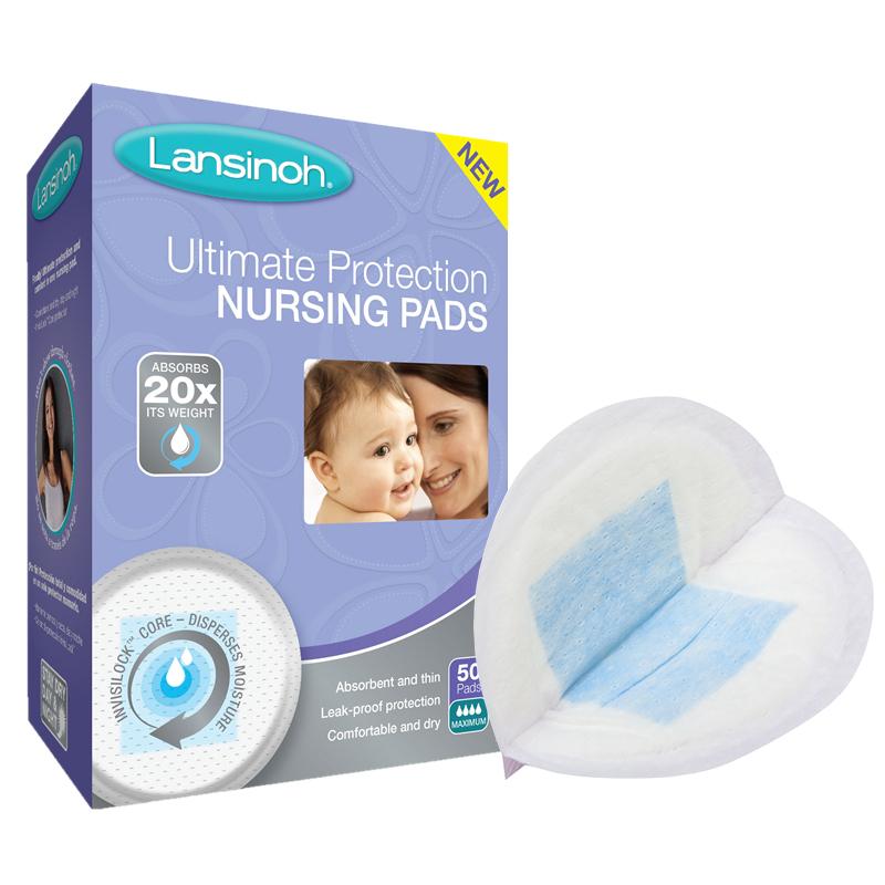 移动端:Lansinoh 兰思诺 蓝色锁芯防溢乳垫 50片 *2件